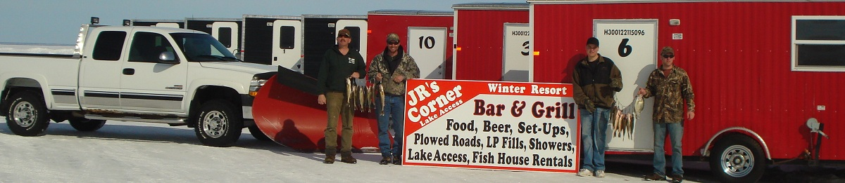 Red lake fish house rentals up north fish house rentals for Red lake ice fishing